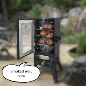 Can BBQ meat be smoked well in electric smoking