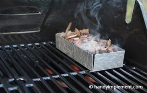 using wood chips in a smoker
