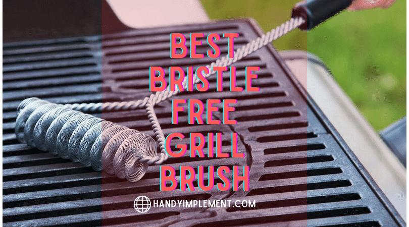 best bristle free grill brush