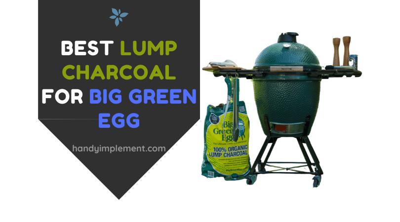 Best lump charcoal for big green egg