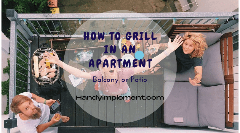 how to grill in an apartment