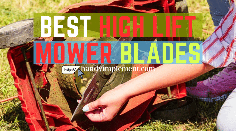 vest high lift mower blades
